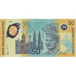 Malasia 50 Ringgit. 1998. SC. (Polymer). PIK. 45