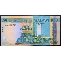 Malawi 50 Kwacha. 2004. 06-07. SC. PIK. 49