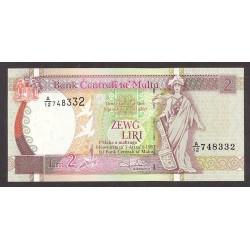 Malta 2 Liri. 1967. SC. PIK. 41