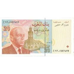 Marruecos 20 Dirham. 1996. SC. PIK. 67 a