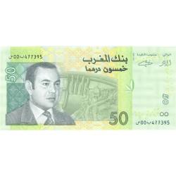 Marruecos 50 Dirham. 2002. (Ah.1423). SC