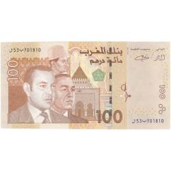 Marruecos 100 Dirham. 2002. (Ah.1423). SC. PIK. Nuevo