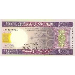 Mauritania 100 Ouguiya. 2004. SC. PIK. 10