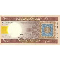 Mauritania 200 Ouguiya. 2004. SC. PIK. 11