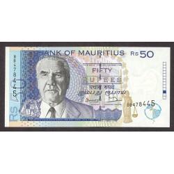Mauritus.-Isla 50 Rupia. 1998. SC. PIK. 43