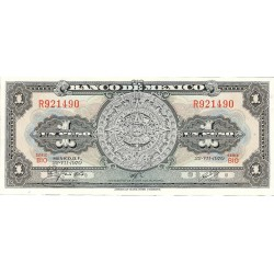 Mejico 1 Pesos. 1970. SC. PIK. 59 i