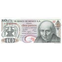 Mejico 10 Pesos. 1975. SC. PIK. 63 h