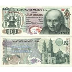 Mejico 10 Pesos. 1977. SC. PIK. 63 i