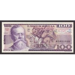Mejico 100 Pesos. 1982. SC. PIK. 74 c