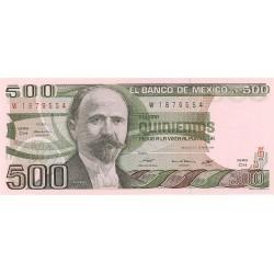 Mejico 500 Pesos. 1982. 25-03. SC. PIK. 75 b