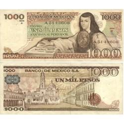 Mejico 1000 Pesos. 1978. 05-07. SC. PIK. 70