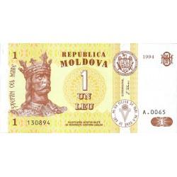 Moldavia 1 Lei. 1994. SC. PIK. 8