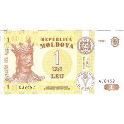 Moldavia 1 Lei. 2005. SC. PIK. 8