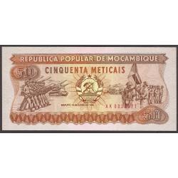 Mozambique 50 Meticais. 1983. SC. PIK. 129
