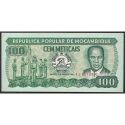 Mozambique 100 Meticais. 1983. SC. PIK. 130