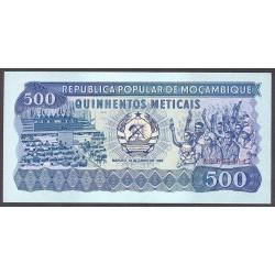 Mozambique 500 Meticais. 1983. SC. PIK. 131