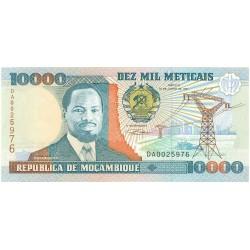 Mozambique 10000 Meticais. 1991. 16-06. SC. PIK. 137