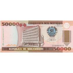 Mozambique 50000 Meticais. 1993. SC. PIK. 138