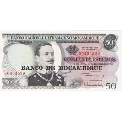Mozambique 50 Escudos. 1970. SC. PIK. 116