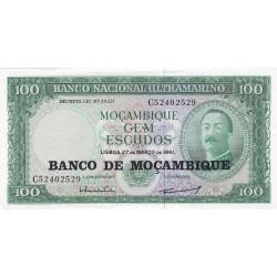 Mozambique 100 Escudos. 1976. EBC+/SC-. (Nuevo con marquitas margenes). PIK. 117