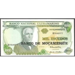 Mozambique 1000 Escudos. 1976. SC. PIK. 119