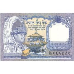 Nepal 1 Rupia. 1991. SC. PIK. 37