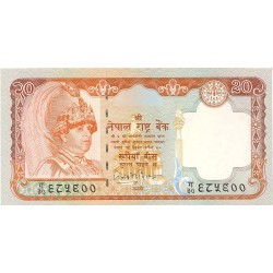Nepal 20 Rupia. 2002. (s/f). SC. PIK. 47