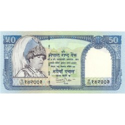 Nepal 50 Rupia. 2002. (s/f). SC. PIK. 48