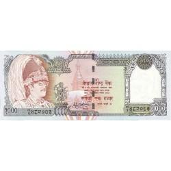Nepal 1000 Rupia. 2000. (s/f). SC. PIK. 44