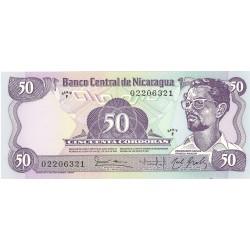 Nicaragua 50 Cordoba. 1984. SC. PIK. 140