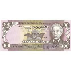 Nicaragua 100 Cordoba. 1984. (1985). SC. PIK. 141