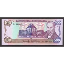 Nicaragua 500 Cordoba. 1985. SC. PIK. 155