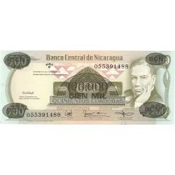 Nicaragua 100000 Cordoba. 1987. SC. PIK. 149