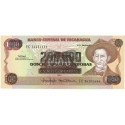 Nicaragua 200000 Cordoba. 1990. (s/f). SC. PIK. 162