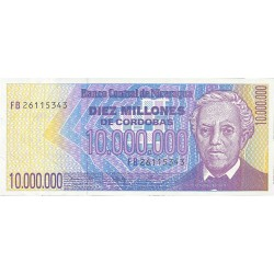 Nicaragua 10000000 Cordoba. 1990. (s/f). SC. PIK. 166