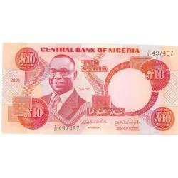 Nigeria 10 Naira. 2005. SC. PIK. 25 .i