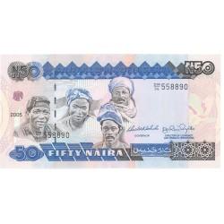 Nigeria 50 Naira. 2005. SC. PIK. 27 k