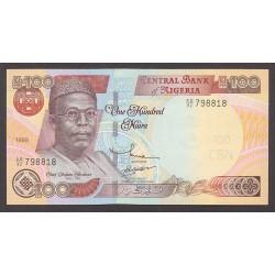 Nigeria 100 Naira. 1999. SC. PIK. 28 a
