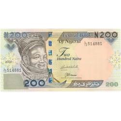 Nigeria 200 Naira. 2004. SC. PIK. 29 b