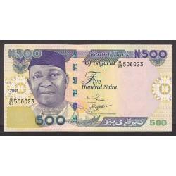 Nigeria 500 Naira. 2001. SC. PIK. 30 a