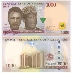 Nigeria 1000 Naira. 2005. SC. ESCASO/A. PIK. 31