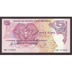 Papua Nueva Guinea 5 Kina. 1992. SC. PIK. 13 b