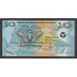 Papua Nueva Guinea 10 Kina. 2000. SC. PIK. 26
