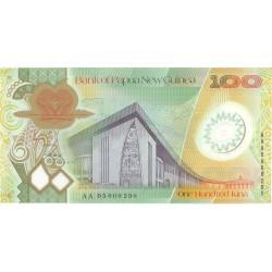 Papua Nueva Guinea 100 Kina. 2005. SC. (Polymer). RARO/A. PIK. 28