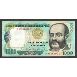 Peru 1000 Soles. 1981. SC. PIK. 122 a