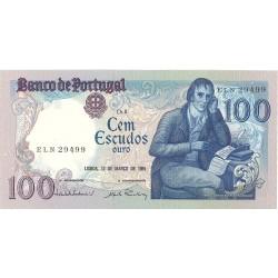 Portugal 100 Escudos. 1985. 12-03. SC. (Ch-8)-(Manuel Mª Barbosa). PIK. 178 d