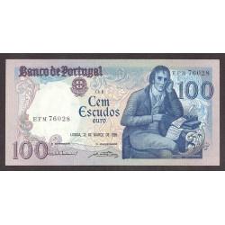 Portugal 100 Escudos. 1985. EBC+/SC-. (Nuevo con lev.doblez que no afecta). PIK. 178 d