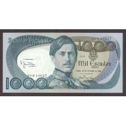 Portugal 1000 Escudos. 1982. EBC+/SC-. (Nuevo con doblez que no afecta). PIK. 175 e