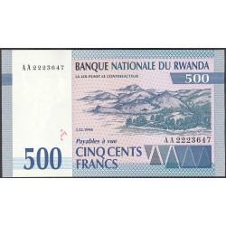 Ruanda 500 Francos. 1994. SC. PIK. 23