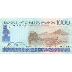 Ruanda 1000 Francos. 1998. SC. PIK. 27